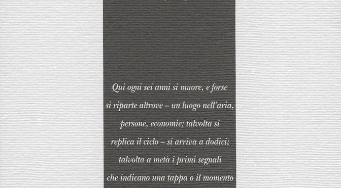 Michele Fianco, Un semplicissimo universo inespanso